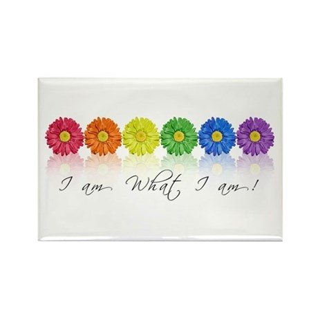 Daisy pride Rectangle Magnet (100 pack)