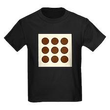 'Brown Polka Dot' T