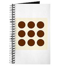 'Brown Polka Dot' Journal
