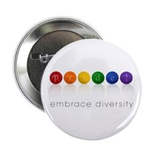 """pride candy 2.25"""" Button (10 pack)"""