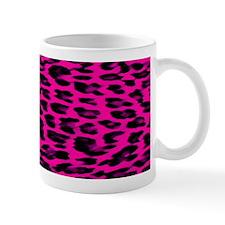 Hot Pink Leopard Print Mug