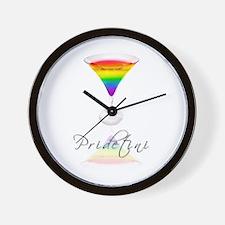 pride martini Wall Clock