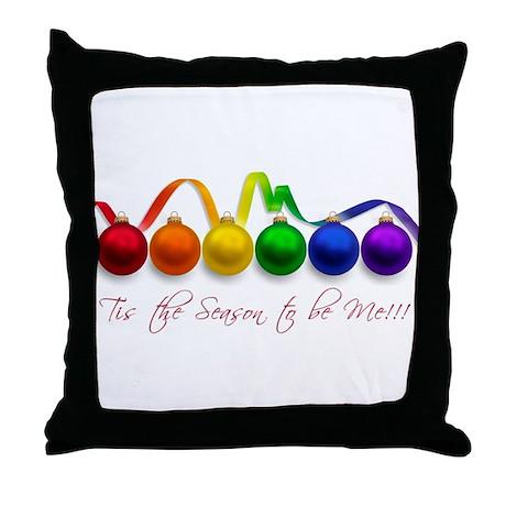 christmas pride Throw Pillow