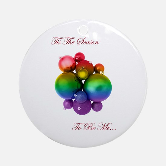 pride christmas Ornament (Round)
