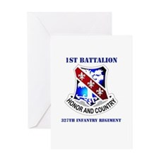DUI - 1st Bn - 327th Infantry Regt with Text Greet