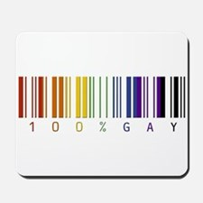 100% gay Mousepad