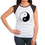 Yin-Yang Women's Cap Sleeve T-Shirt