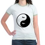 Yin-Yang Jr. Ringer T-Shirt