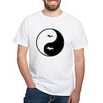 Yin-Yang White T-Shirt