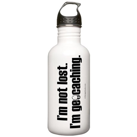 I'm Not Lost Stainless Water Bottle 1.0L