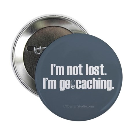 "I'm Not Lost 2.25"" Button (10 pack)"