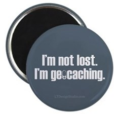 """I'm Not Lost 2.25"""" Magnet (10 pack)"""