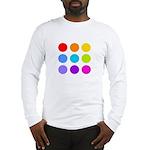 'Rainbow Polka Dot' Long Sleeve T-Shirt