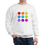 'Rainbow Polka Dot' Sweatshirt
