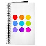 'Rainbow Polka Dot' Journal