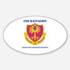 DUI - 2nd Bn - 320th FA Regt with Text Decal