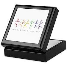 dancing rainbow Keepsake Box