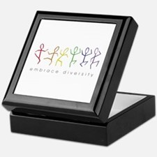 dancing rainbow Keepsake Box