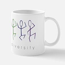 dancing rainbow Mug