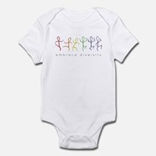 dancing rainbow Infant Bodysuit