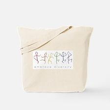 dancing rainbow Tote Bag
