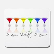 rainbow martinis Mousepad