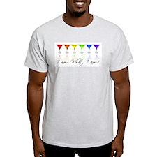 rainbow martinis T-Shirt