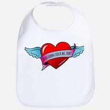 Banner, Heart & Wings - Who G Bib