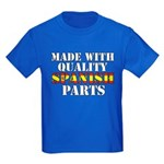 Quality Spanish Parts Kids Dark T-Shirt