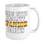 Quality Spanish Parts Large Mug
