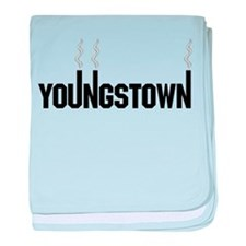 Youngstown Smokestack baby blanket