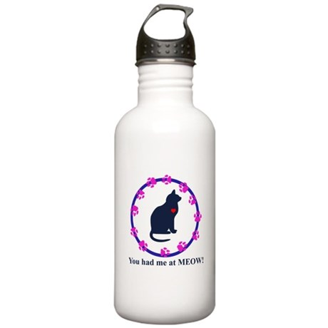 You Had Me at Meow Stainless Water Bottle 1.0L