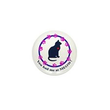 You Had Me at Meow Mini Button (10 pack)