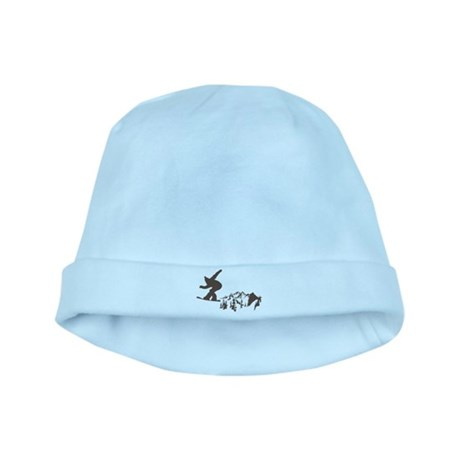 Snowboarding baby hat
