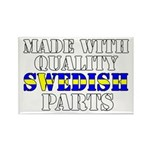 Quality Swedish Parts Rectangle Magnet