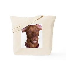 Silly Vizsla Smile Tote Bag