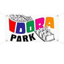 Idora Park Color Rollercoaster Banner