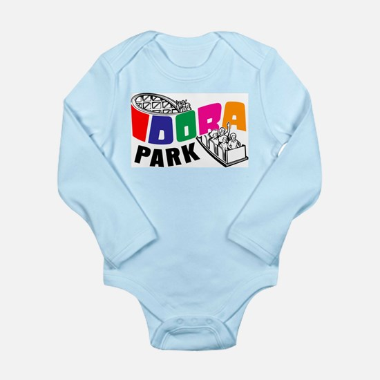Idora Park Rollercoast Long Sleeve Infant Bodysuit