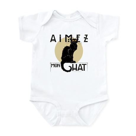 Love My Cat Infant Bodysuit