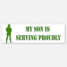 """Son In Military"" Bumper Bumper Bumper Sticker"