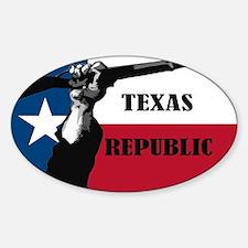 Republic of Texas Decal