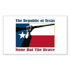 Republic of Texas Decal