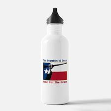 Cute Flag of texas Water Bottle