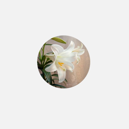 Easter Lily Mini Button