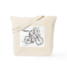 Catoons™ Bicycle Cat Tote Bag