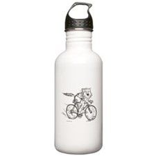 Catoons™ Bicycle Cat Water Bottle