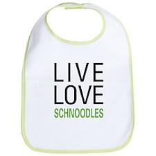 Live Love Schnoodles Bib
