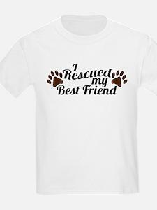 Rescued Dog Best Friend T-Shirt