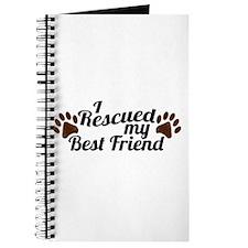 Rescued Dog Best Friend Journal