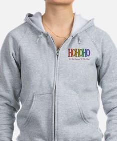 Unique Gay christmas Zip Hoodie